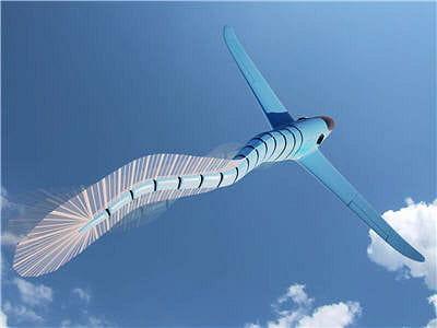 ce mode de propulsion confère une grande manœuvrabilité de l'avion.