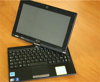 Eee pc tactile le netbook multipoints linternaute for Essai ecran pc