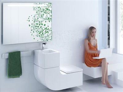 La salle de bain innovante chez roca a quoi pourrait for Miroir salle de bain high tech