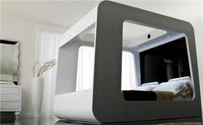 le lit home cinema a quoi pourrait ressembler votre int rieur dans quelques ann es. Black Bedroom Furniture Sets. Home Design Ideas