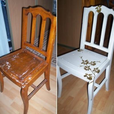 Chaise en bois les r novations de meubles les plus for Renovation meuble en bois