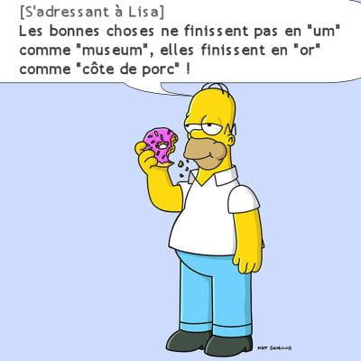 Homer po te - Anniversaire simpson ...