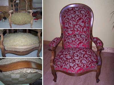 restaurer un fauteuil voltaire linternaute. Black Bedroom Furniture Sets. Home Design Ideas