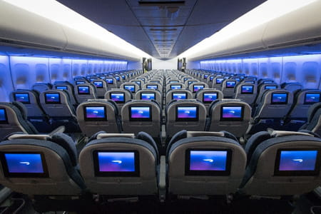 British airways la compagnie d voile la nouvelle cabine for Avion 747 interieur