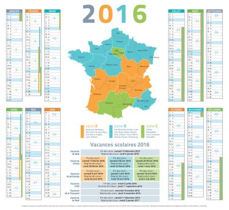 Vacances scolaires 2016 2017 2018 le calendrier - Vacances scolaires 2015 paris ...