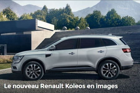 nouveau renault koleos il arrive quels changements prix photos. Black Bedroom Furniture Sets. Home Design Ideas
