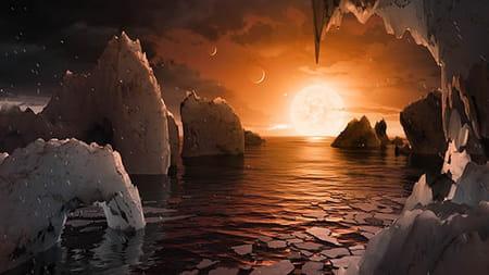 Découverte d'exoplanètes : photos