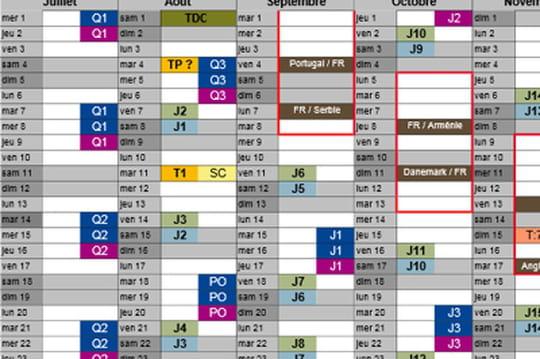 Le calendrier 2015-2016 de la Ligue 1 a été dévoilé. La saison ...