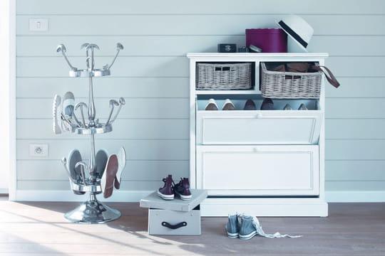 32 astuces pour ranger ses chaussures. Black Bedroom Furniture Sets. Home Design Ideas