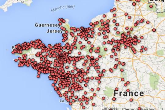 P nurie d 39 essence liste des stations service ferm es for Ou trouver des cartons
