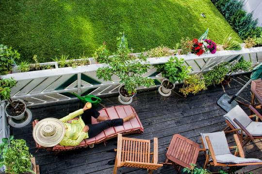 comment am nager son balcon. Black Bedroom Furniture Sets. Home Design Ideas