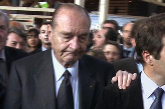 Jacques Chirac: il sort enfin du silence avecValérieTrierweiler