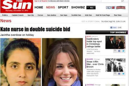 Kate Middleton: l'infirmière Jacintha Saldanha avait déjà tenté desesuicider