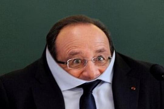 François Hollande : la photo retirée par l'AFP a été détournée