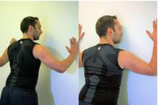 Triceps le mur for Exterieur triceps