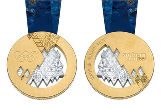 combien gagne une medaille d or olympique 2014