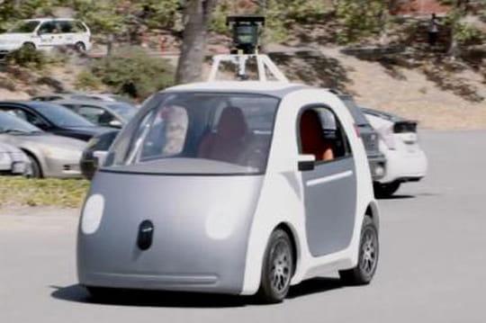 la voiture sans volant sans p dales ni conducteur de google. Black Bedroom Furniture Sets. Home Design Ideas