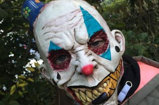 Clown tueur faux clowns pour halloween une r elle menace - Photo de clown a imprimer ...