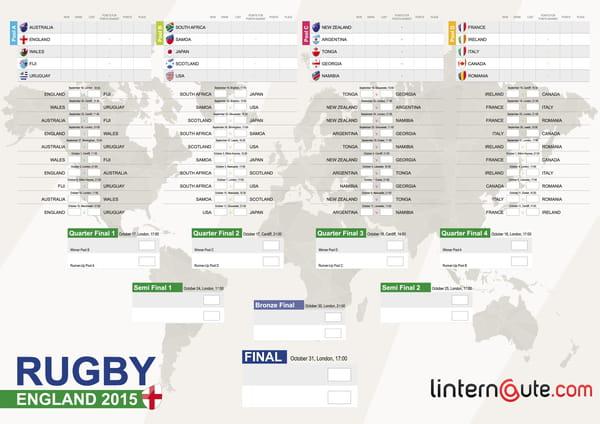 Coupe du monde de rugby 2015 tableau le calendrier des matchs t l charger en pdf - Coupe du monde 2015 calendrier ...