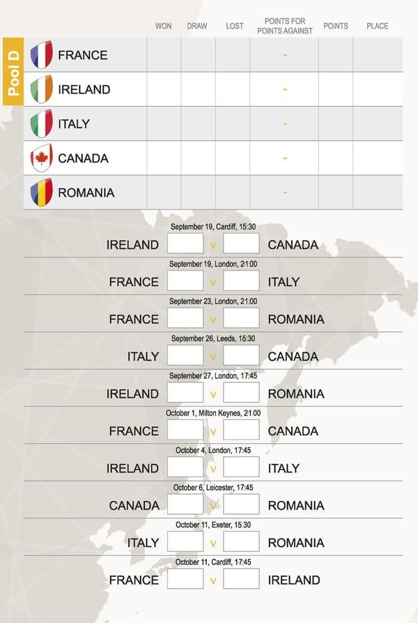 Coupe du monde de rugby 2015 tableau le calendrier des matchs t l charger en pdf - Dates coupe du monde de rugby 2015 ...