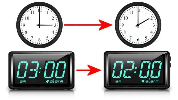 Quand aura lieu le changement d'heure 2016?