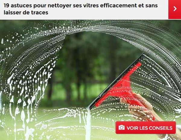 Laver ses vitres fabulous min aperu de la video comment for Nettoyer ses vitres sans traces