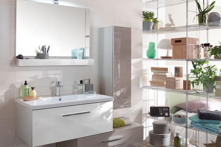 une salle de bains v g tale salles de bain les tendances 2015 linternaute. Black Bedroom Furniture Sets. Home Design Ideas