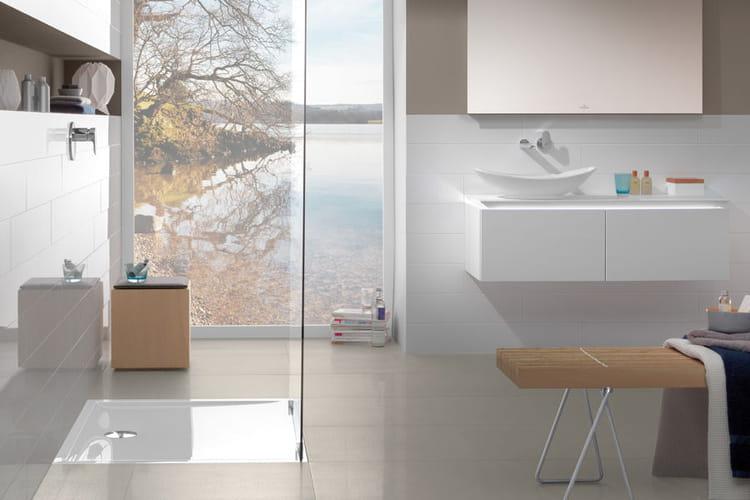 une salle de bains transparente salles de bain les tendances 2015 linternaute