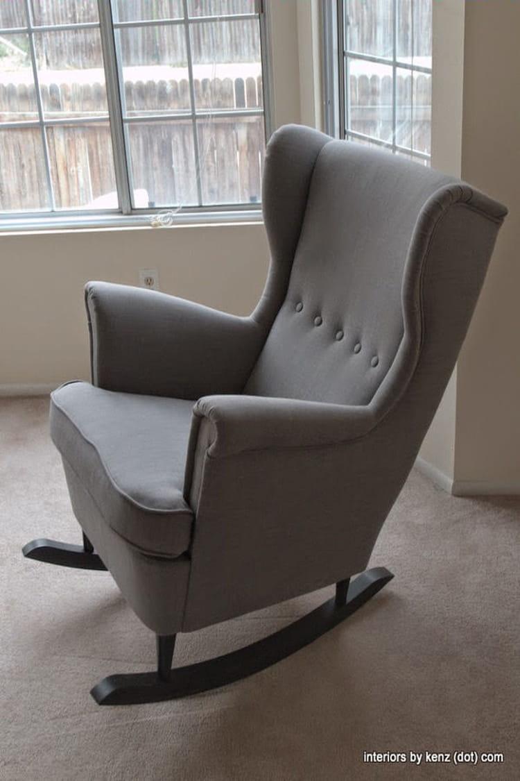 un fauteuil am lior ikea hackers 20 id es pour relooker vos meubles ikea linternaute. Black Bedroom Furniture Sets. Home Design Ideas