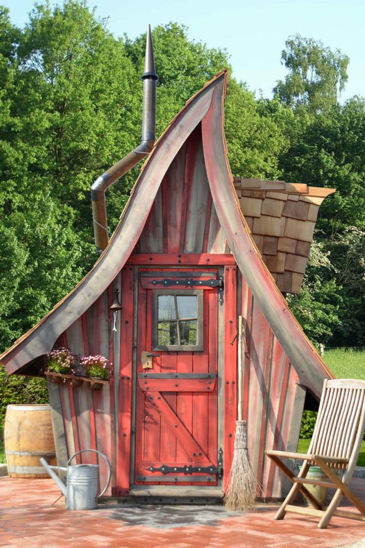 Kinderspielhaus Holz Hexenhaus ~ Des cabanes de rêve pour sublimer votre jardin  Linternaute