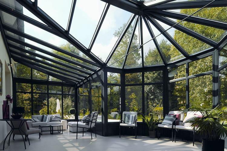 une v randa design 20 belles v randas pour agrandir votre maison linternaute. Black Bedroom Furniture Sets. Home Design Ideas
