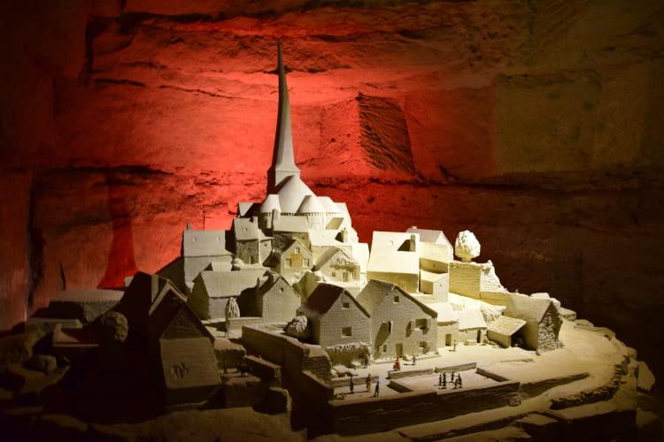 La d couverte du parc pierre et lumi re l 39 anjou troglodyte des sites - Maison troglodyte angers ...