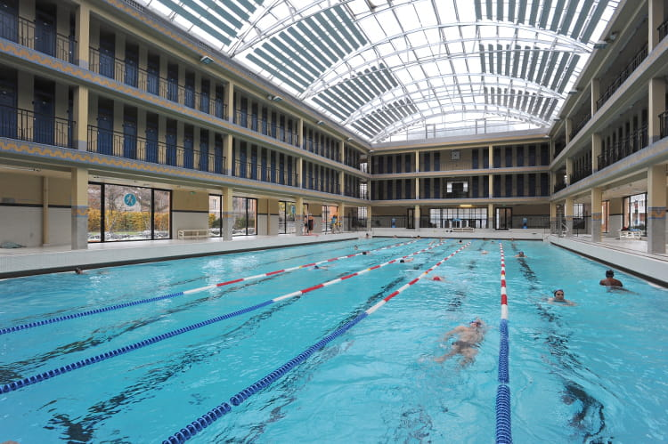 La piscine pailleron xixe arrondissement les 20 plus for Piscine pailleron