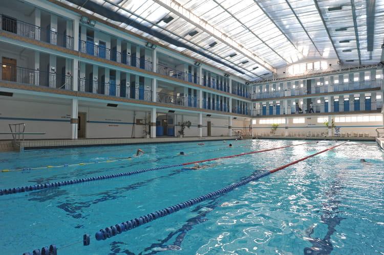 Piscine de pontoise ve arrondissement les 20 plus belles piscines de paris linternaute for Piscine hebert