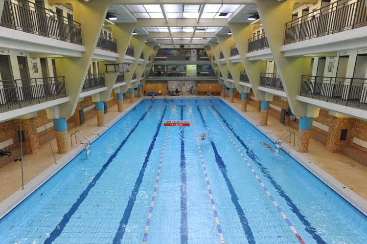 Piscine rouvet xixe arrondissement for Piscine 50m paris