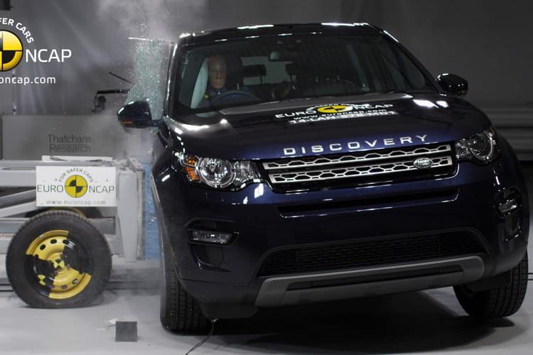 land rover discovery sport 2014 crash test les voitures les plus s res selon euro ncap. Black Bedroom Furniture Sets. Home Design Ideas