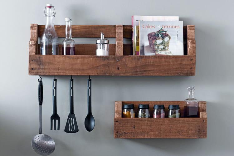 Des tag res de cuisine for Etagere pour meuble cuisine