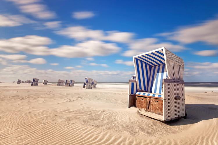 Les plages de l'île de Sylt en Allemagne