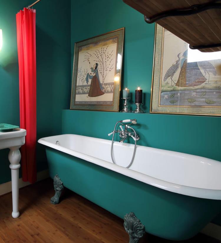 salle de bains des astuces pour la r nover sans vous ruiner. Black Bedroom Furniture Sets. Home Design Ideas