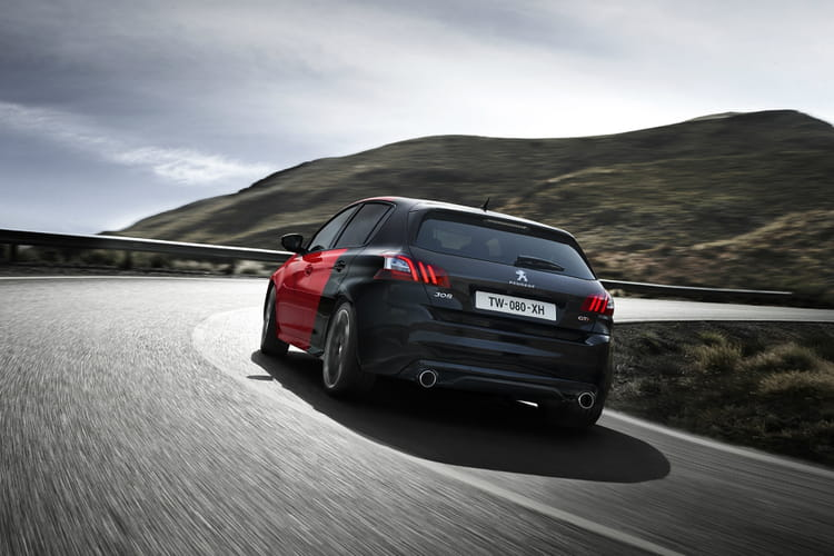 tranchante peugeot 308 gti la nouvelle lionne de 270. Black Bedroom Furniture Sets. Home Design Ideas