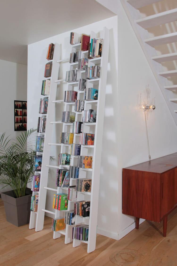 une tag re chelle des tag res tendance qui donnent envie de tout ranger linternaute. Black Bedroom Furniture Sets. Home Design Ideas