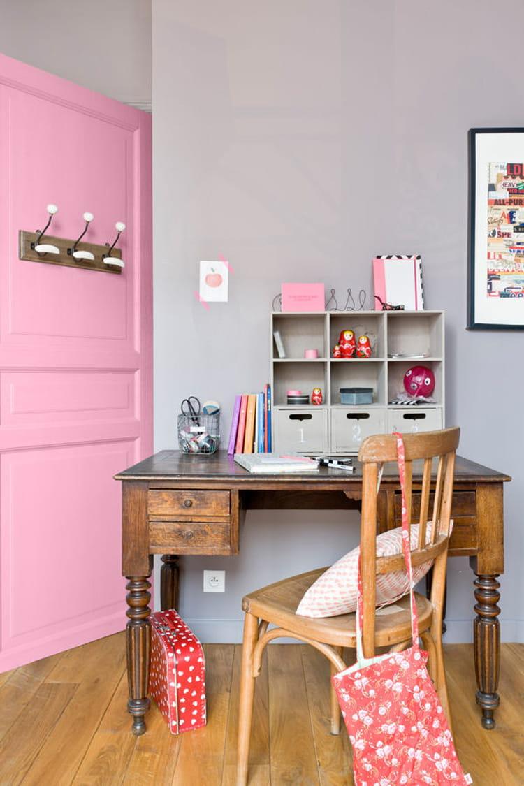 Chambre couleur vieux rose for Peinture couleur tendance