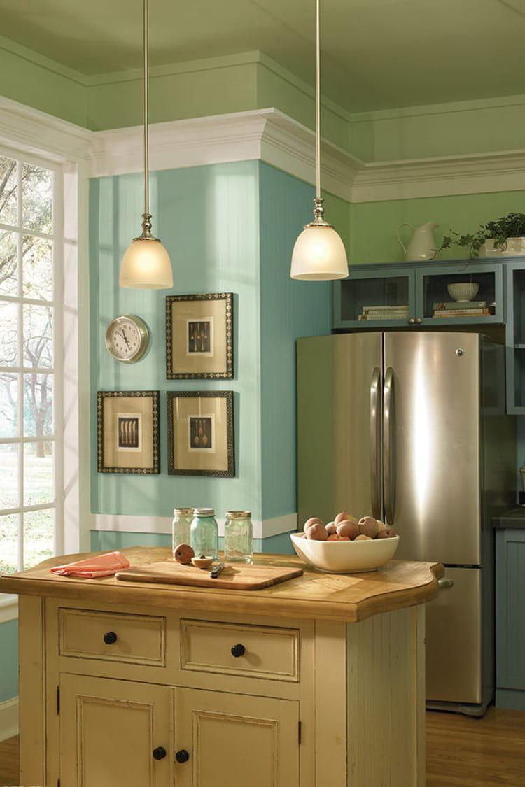 vert menthe peinture les couleurs tendance de 2015 linternaute. Black Bedroom Furniture Sets. Home Design Ideas