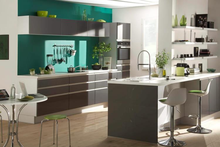 Une cuisine design  Des cuisines dans l'air du temps  Linternaute
