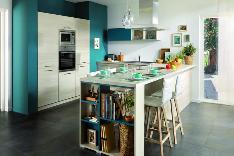 Une cuisine fonctionnelle des cuisines dans l air du temps linternaute - Cuisine fonctionnelle ...