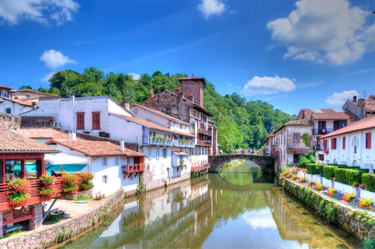 Saint jean pied de port et roncevaux les plus belles tapes du chemin de compostelle linternaute - Les pyrenees saint jean pied de port ...