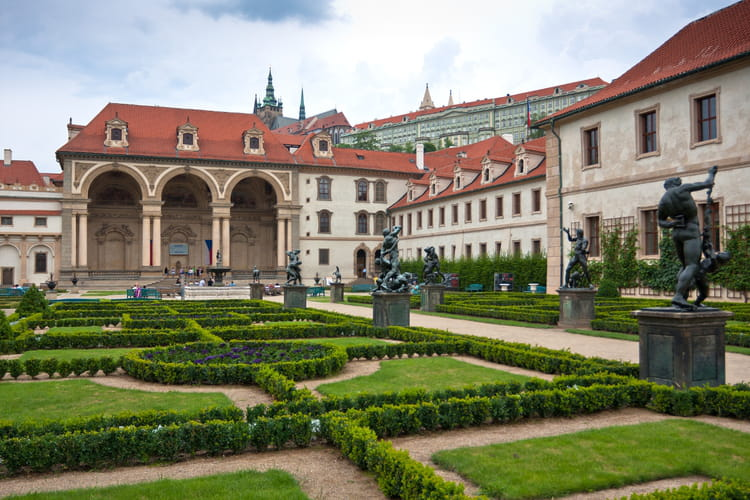 Le jardin vald tejnsk dans le quartier de mal strana for Jardin wallenstein prague