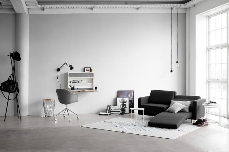 un canap lit moderne nos id es d co pour un coin lecture confortable linternaute. Black Bedroom Furniture Sets. Home Design Ideas