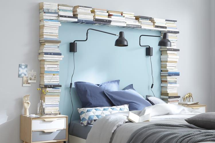 un cadre de lit original. Black Bedroom Furniture Sets. Home Design Ideas