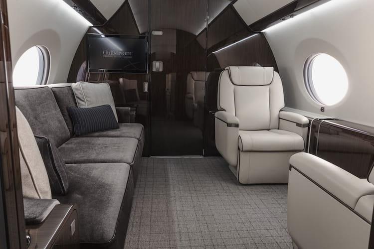 Le gulfstream g650 visitez les jets priv s les plus for Interieur d un couvent streaming